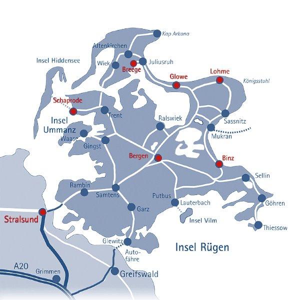 22 Jahre Ferienunterkünfte & Reiseportal der Insel Rügen